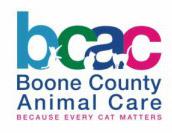 Boone County Animal Care Logo
